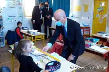 Les écoliers de Palaiseau à Jean-Michel Blanquer : «Les copains nous manquaient» - Le Parisien