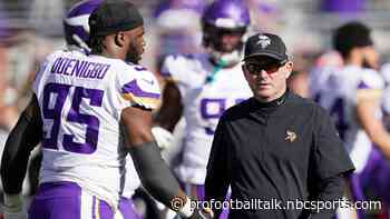Mike Zimmer energized by changes on Vikings defense