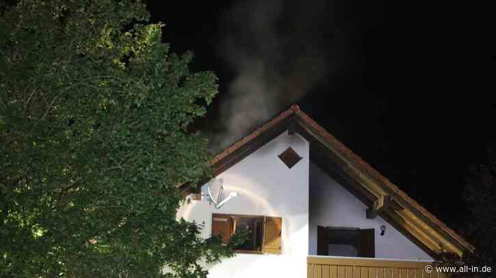 Ein Leichtverletzter: 100.000 Euro Sachschaden: Küche nach Brand in Hergatz vollständig zerstört - Hergatz - all-in.de - Das Allgäu Online!