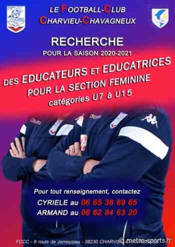 Charvieu Chavagneux recherche des éducateurs pour sa section féminine - Métro-Sports