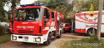Incendio all'interno di una villetta disabitata a Luserna San Giovanni - TorinOggi.it