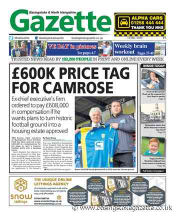 PAPER PREVIEW: £600k price tag for the Camrose - Basingstoke Gazette