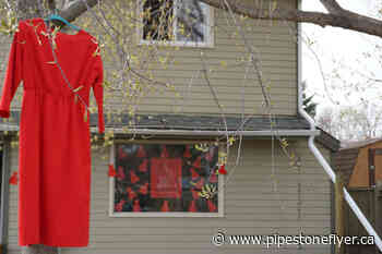 A Wetaskiwin group home puts out display to raise awareness for MMIW - Pipestone Flyer