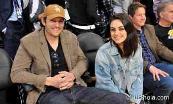 Ashton Kutcher reveals his and Mila Kunis' homeschooling parenting hack – and the skill their kids mastered - HOLA! USA