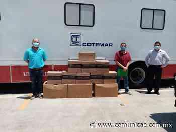 Dona Grupo Cotemar insumos médicos al IMSS de Ciudad del Carmen, para ayudar al combate del COVID-19 - Comunicae México
