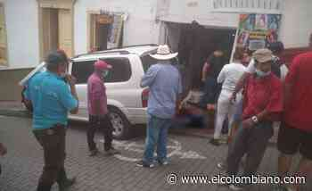 Mortal incidente en Abejorral por conductor que violó la cuarentena - El Colombiano