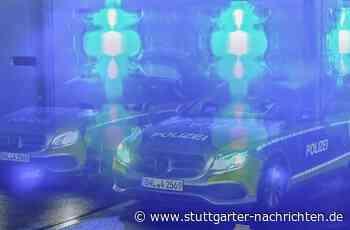Missglückte Übungsfahrt in Uhingen - Auto landet in Schaufenster - Stuttgarter Nachrichten