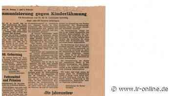 Coronapandemie: Einstiger Amtsarzt in Elsterwerda plädiert für Impfpflicht - Lausitzer Rundschau