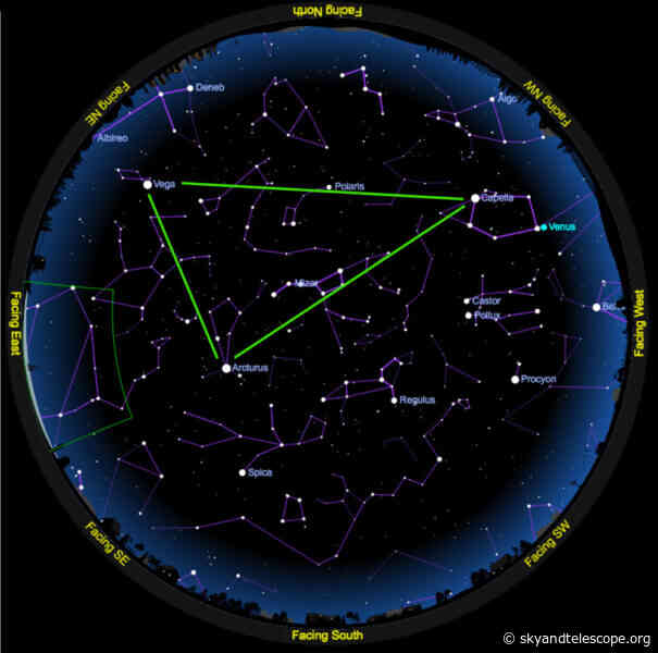 This May, Find the Star Pattern That Spans All Seasons