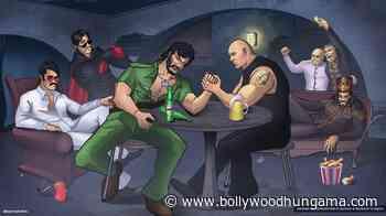 Ranveer Singhs Alauddin Khilji chills with Gabbar Singh, Kancha Cheena, Crimemaster Gogo and Mogambo at gangsta party - Bollywood Hungama