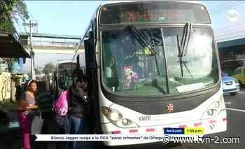 Noticias Metrobús estrena nueva ruta en La Cabima - TVN Panamá