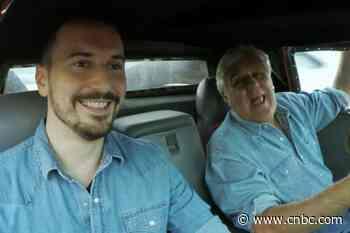Jay Leno and Adam Carolla go for a ride in a Ferrari - CNBC