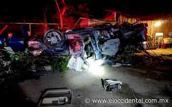 Accidente deja 4 muertos y 2 heridos en Zapotiltic - El Occidental