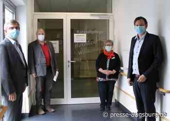 Krumbach | Erfolgreiche Inbetriebnahme einer Corona-Isoliereinrichtung - Presse Augsburg