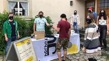 JUZ Hofheim verteilt Masken an seine Mitglieder - Main-Post