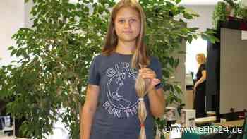Herzerweichend: Darum trennt sich Laurene (11) von ihren langen Haaren - echo24.de