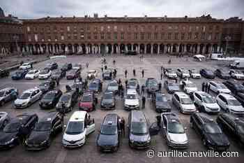 Toulouse. Les taxis klaxonnent une dernière fois en hommage aux soignants - maville.com