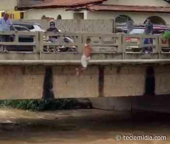 Bombeiros retomam buscas por homem que pulou no ribeirão em Pedro Leopoldo - Tecle Mídia
