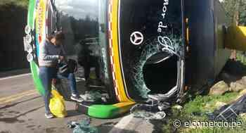 Ayacucho: al menos 10 heridos deja accidenteen la vía Puquio-Nasca - El Comercio