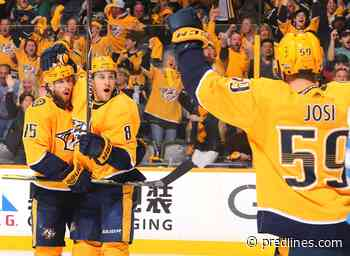 Nashville Predators Weekly Check-In: NHL Fan Awards and More