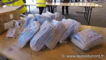 Saint-Laurent-Blangy : la distribution des masques aura lieu ce week-end - La Voix du Nord
