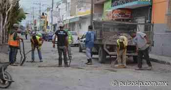 Bachean calles de Matehuala - Pulso Diario de San Luis