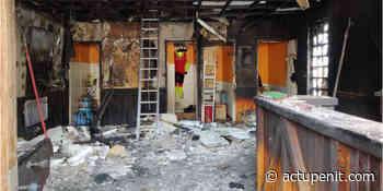 Aulnoye-Aymeries : Le centre de secours des pompiers détruit par un incendie - ACTU Pénitentiaire