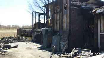 Port Elgin man hailed as 'hero' for rousing neighbours during raging house fire - Shoreline Beacon