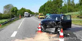 Unfall - B 454 zwischen Stadtallendorf und Kirchhain gesperrt - Oberhessische Presse