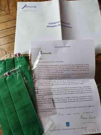 Yvelines. Sartrouville : 50 000 masques livrés dans les boîtes aux lettres - actu.fr
