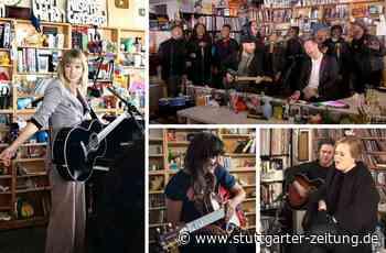 Best of Tiny Desk Concerts - Schreibtischmusik mit Adele, Taylor Swift und Coldplay - Stuttgarter Zeitung