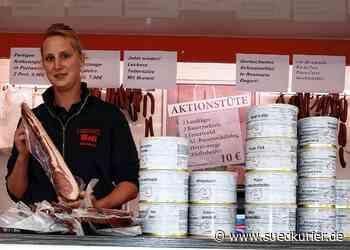 Waldshut-Tiengen: Am Stand der Metzgerei Boll gibt es auf den Wochenmärkten regionale Fleisch- und Wurstwaren - SÜDKURIER Online