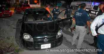 Jóvenes de Tantoyuca se quedan atorados en filtro; viajaban ebrios - Vanguardia de Veracruz