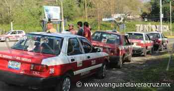 Protestan taxistas de Tantoyuca - Vanguardia de Veracruz