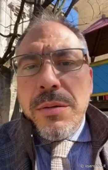 """Rovellasca, il sindaco in diretta dal mercato lancia appello al Governo: """"Aiutateci a far ripartire negozi e aziende locali!"""" - ilSaronno"""