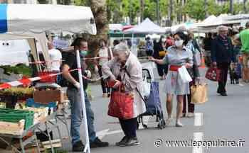 L'air du déconfinement planait sur le marché de Tulle ce samedi - Tulle (19000) - lepopulaire.fr