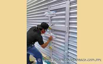 Por desacato clausuran tienda Elektra de Teapa - El Heraldo de Tabasco