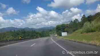 Rodovia Regis Bittencourt tem interdição total em Barra do Turvo nesta quarta-feira (13) - Via Trolebus