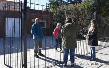 Autoridades municipales recorrieron geriátricos de Chacabuco - Diario Democracia