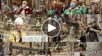Bordighera, messa a porte chiuse per celebrare il patrono. Vescovo Suetta: «Pandemia ci ha fatto eremiti come Sant'Ampelio - Riviera24