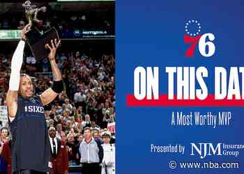 On This Date | Iverson Named 2001 MVP