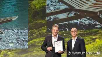 Design-Award in Gold für Holzliege aus der Jachenau - Merkur.de
