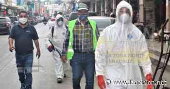 Realizan segunda etapa de sanitización en zonas de alto riesgo en Naranjos - La Opinión