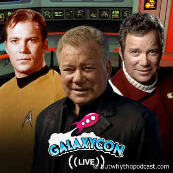 William Shatner Joins GalaxyCon's Virtual Celebrity and Fan Experiences - But Why Tho? A Geek Community