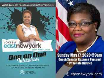 Live Video Interview With Senator Persaud on VOICES of East New York With Nikki Lucas Sunday May 17 at 9am - eastnewyork.com