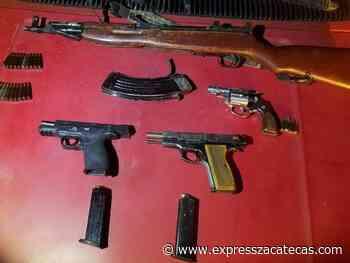 Detienen a 5 en posesión de armamento en Loreto - Noticias - Express Zacatecas