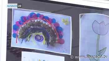 Initiative solidaire à Reichshoffen, des dessins d'enfants envoyés aux résidents de l'EHPAD. - alsace20.tv