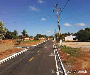 Prefeitura entrega obras de pavimentação no bairro Santa Teresa em Poconé - Poconet Noticias