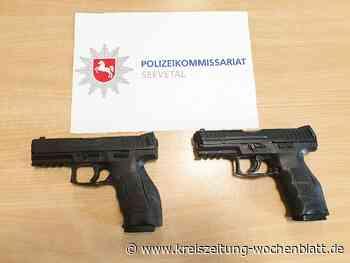 """""""Das kann tragisch enden"""": Softair-Waffen kürzlich in Rosengarten sichergestellt - Kreiszeitung Wochenblatt"""