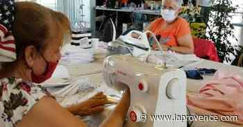 Le 18:18 - Solidarité : à Marignane, 150 bénévoles fabriquent des masques pour toute la ville - La Provence